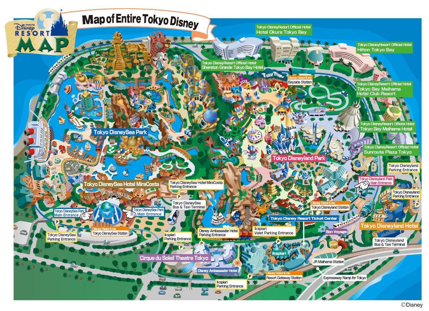 東京ディズニーランド地図. print印刷 system_update_altダウンロード